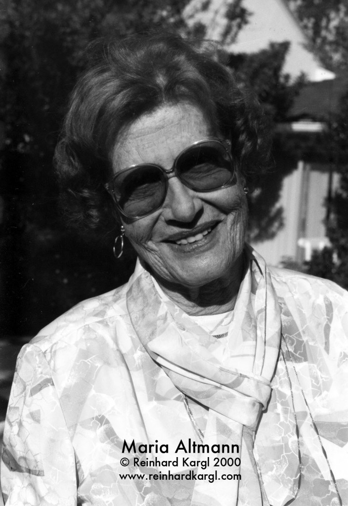 Maria Altmann Portrait