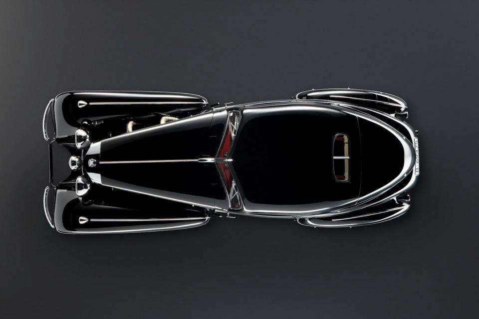 Mercedes Benz 540 K Autobahn Courier