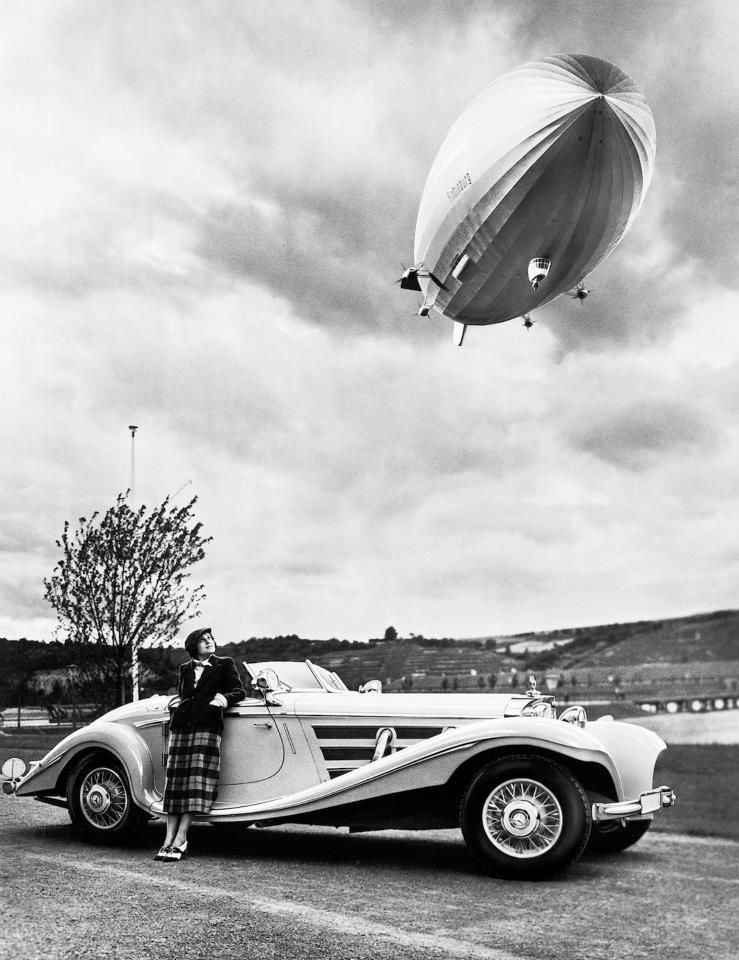 Airship Hindenburg, Mercedes Benz 540 K